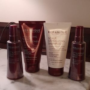 NWT.  Keranique Hair Regrowth System